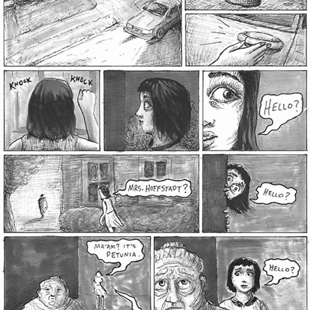 Paranormal Petunia #1 (Signed)