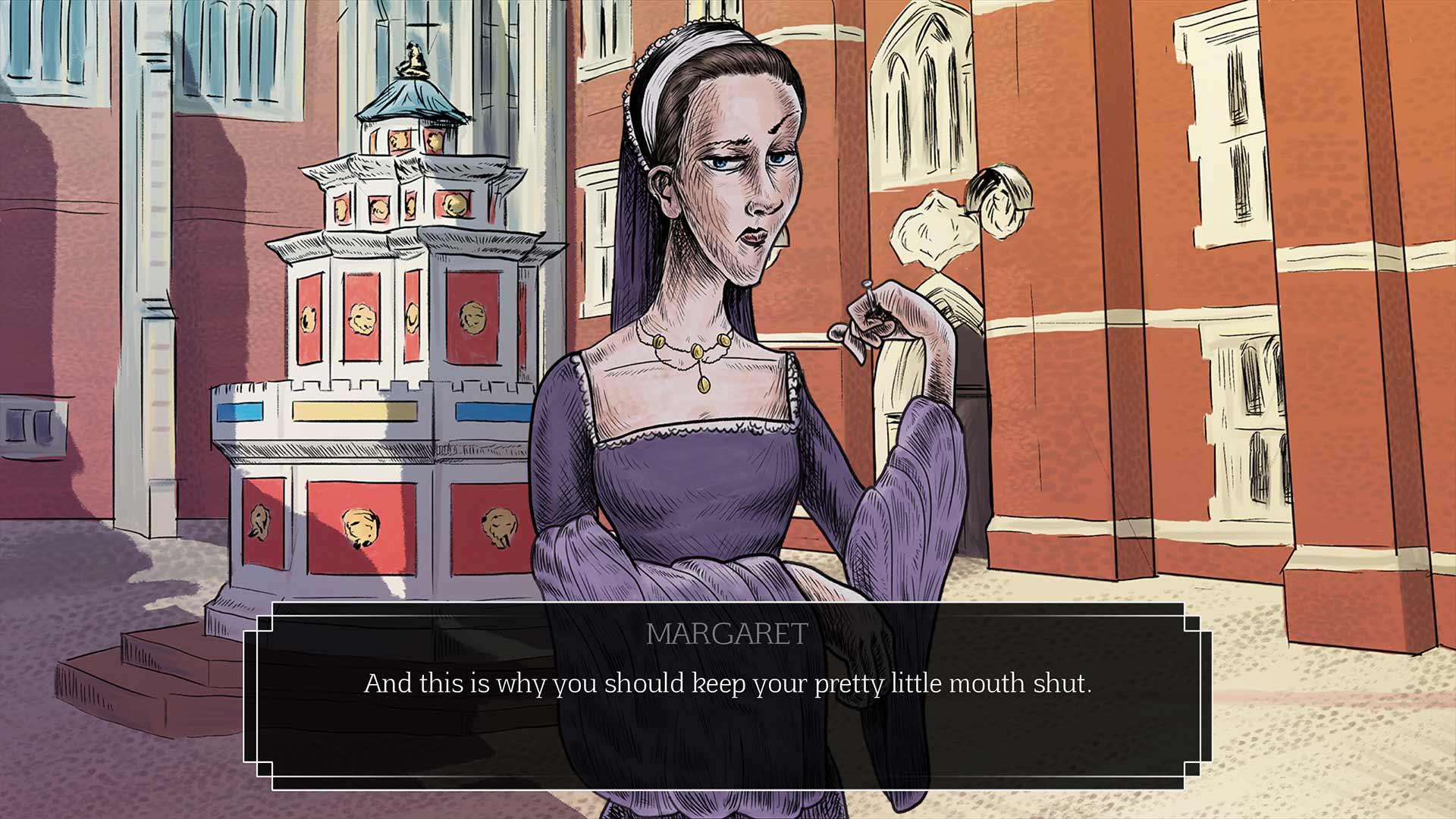 Hampton Court - Visual Novel Video Game